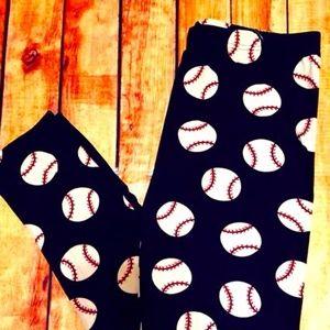 Baseball Leggings